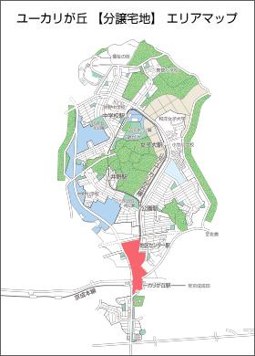 ユーカリが丘駅前エリアマップ