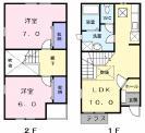 アパートFirst Stage埼玉県所沢市大字山口西武狭山線下山口駅7.3万円